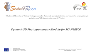 3D Photogrammetric Scanning for SCAN4RECO
